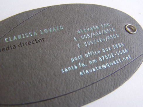 tag business card designs