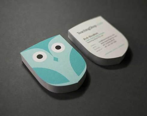 owl business card designs