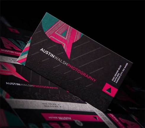 photography business card designs