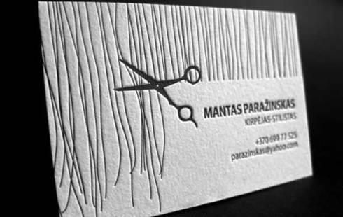 hairdresser business card designs
