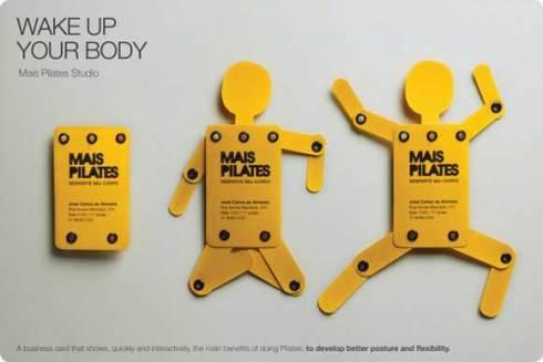 body business card designs