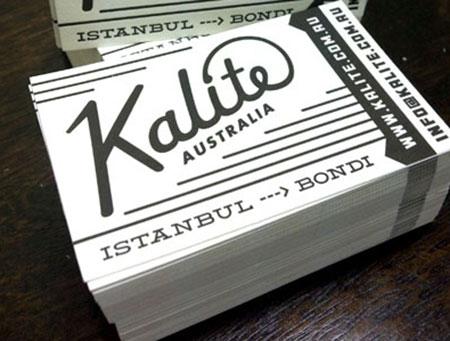 retro  business card designs