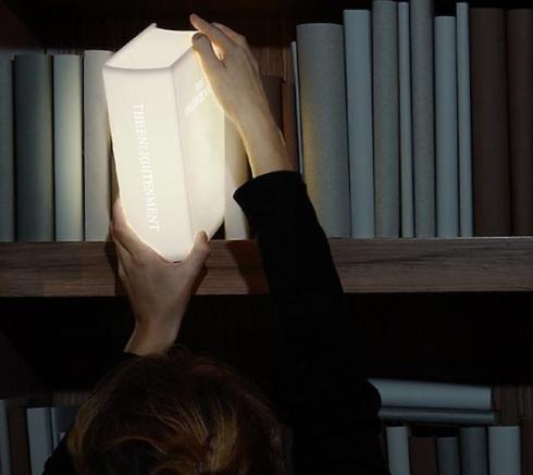 Book lamp design
