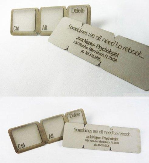 psychologist business card designs