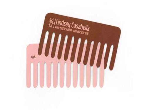 stylist business card designs