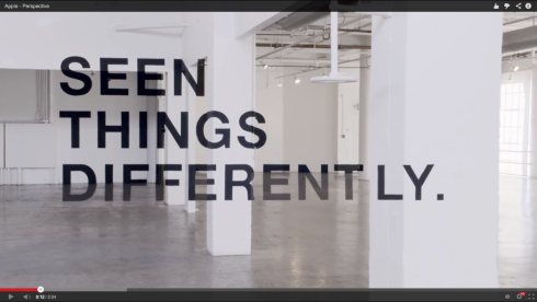 Amazing inspirational video-design from Apple you don't want to miss - design think different