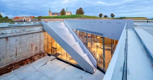 Bjarke Ingels inspiring danish architecture martime museum