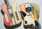 prisma guitars made from recycled skateboard decks